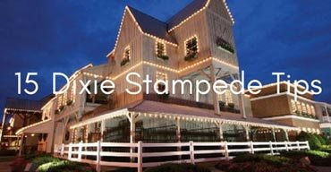 Know Before You Go: Dixie Stampede Tips
