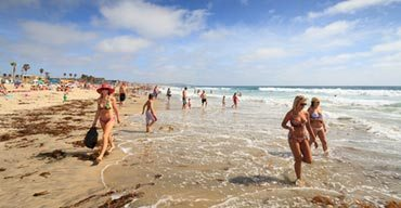 Sun, Surf & Fun Found at San Diego Beaches