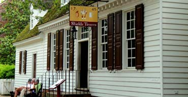 Dine at one of Colonial Williamsburg's Historic Taverns