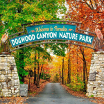 Dogwood Canyon Nature Park in Lampe MO