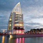 Exploration Tower at Port Canaveral in Cape Canaveral FL