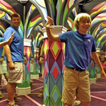 Island Mirror Maze in Pigeon Forge TN