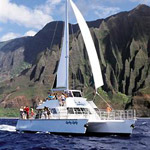 Kauai Sea Tours Deluxe Na Pali Snorkel Cruise Aboard the Lucky Lady in Eleele, Kauai HI