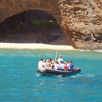 Kauai Sea Tours - Na Pali Half Day Raft Snorkel Adventure in Eleele, Kauai HI
