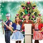 Lumberjack Feud Christmas Competition in Pigeon Forge TN