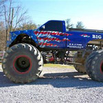Monster Truck Ride in Sevierville TN