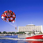 Parasailing - Sammy Duvall's Watersports Centre in Lake Buena Vista FL