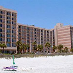 Sandcastle Oceanfront Resort at the Pavilion in Myrtle Beach SC