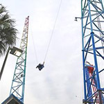 Sling Shot Thrill Ride in Myrtle Beach SC