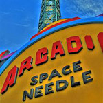 Space Needle in Gatlinburg TN