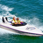 Tampa Bay / St. Petersburg Speed Boat Adventure Tour in St. Petersburg FL