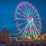 The Great Smoky Mountain Wheel in Pigeon Forge TN