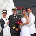 Titanic Museum Attraction ~ Wedding & Vow Renewal in Pigeon Forge TN