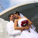 Titanic Museum Attraction ~ Wedding & Vow Renewal  in Branson MO