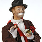 Tom Mullica as Red Skelton...The Legend Continues in Branson MO