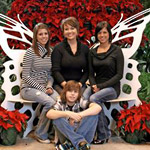 White Flight at Butterfly Palace & Rainforest Adventure Exhibit in Branson MO