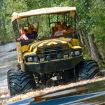 Monster Truck through the Orange Groves! with Transportation in Orlando FL