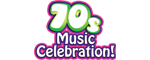 70s Music Celebration Logo