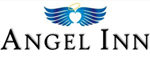 Angel Inn - by the Strip Logo