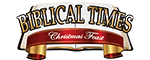 Biblical Times Christmas Feast Logo