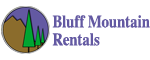 Bluff Mountain Rentals Logo