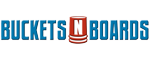 Buckets N Boards  Logo