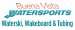 Waterski, Wakeboard, & Tubing Charters with Buena Vista Watersports Logo