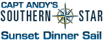 Capt. Andy's Southern Star Na Pali Dinner Sunset Sail Logo