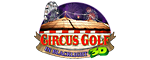 Circus Golf - In Blacklight 3D Logo