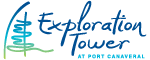 Exploration Tower at Port Canaveral Logo