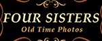 Four Sisters Old Time Photo - Pigeon Forge, TN Logo