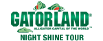 Gatorland Night Shine Tour - Orlando, FL Logo