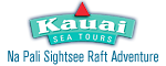 Kauai Sea Tours - Na Pali Sightsee Whale watch Raft Adventure Logo