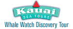 Kauai Sea Tours - Whale Watch Discovery Tour Logo