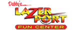 LazerPort Fun Center Logo