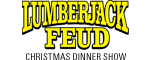 Lumberjack Feud Christmas Competition Logo