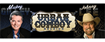 Mickey Gilley & Johnny Lee / Urban Cowboy Reunion - Branson, MO Logo