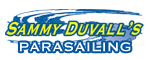 Parasailing - Sammy Duvall's Watersports Centre Logo