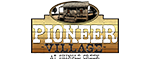 Pioneer Village at Shingle Creek Admission Logo