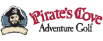 Pirate's Cove Adventure Golf Logo