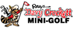 Ripley's Davy Crockett Mini-Golf Logo