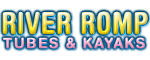 River Romp Tubes and Kayaks Rentals - Sevierville, TN Logo