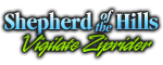Shepherd of the Hills Vigilante Ziprider Logo