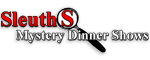 Sleuths Mystery Dinner Shows - Orlando, FL Logo