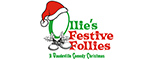 "Sweet Fanny Adams Presents""Ollie's Festive Follies"" Logo"