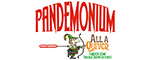 "Sweet Fanny Adams Presents ""Pandemonium! Featuring All a Quiver"" - Gatlinburg, TN Logo"