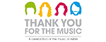 Thank You For The Music - A Celebration of the Music of ABBA Logo