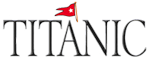 Titanic Museum Attraction Logo