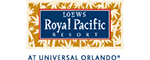 Universal's Loews Royal Pacific Resort Logo