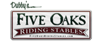 Five Oaks Riding Stables - Sevierville, TN Logo
